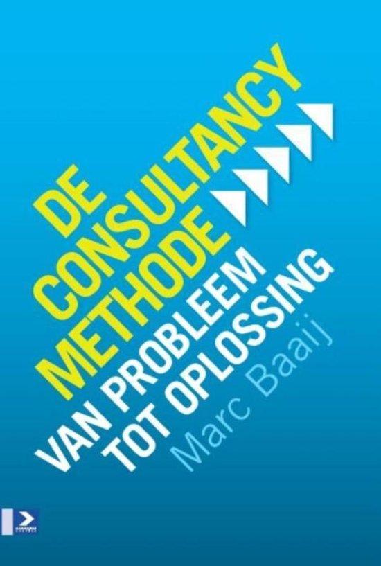 Boek cover De consultancymethode van Marc G Baaij (Paperback)