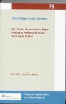Uitgaven vanwege het Instituut voor Ondernemingsrecht, Rijksuniversiteit te Groningen 79 -   Vijandige overnames