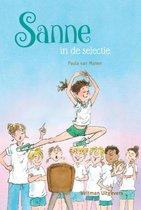 Boek cover Sanne in de selectie van Paula van Manen