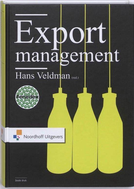 Boek cover Exportmanagement van P. de Blot (Hardcover)