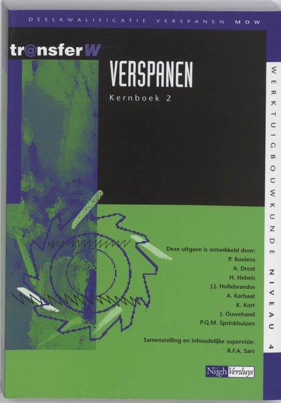 Cover van het boek 'Verspanen / 2 / deel Tekstboek / druk 3'
