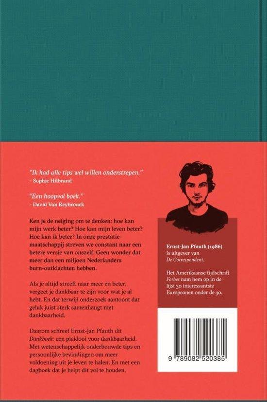 Dankboek - Ernst-Jan Pfauth