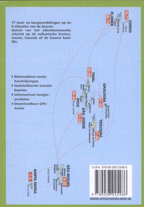 Rother Wandelgidsen - Azoren - Roman Martin