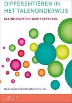 Boek cover Differentiëren in het talenonderwijs van Johan Keijzer