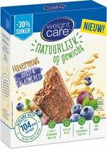 Weightcare Havermout Maaltijdrepen - Druif & Blauwe Bes - 8 stuks