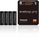 Panasonic eneloop PRO Sliding AA R6 2550mAh 1.2V Oplaadbare Batterij - 4 Stuks