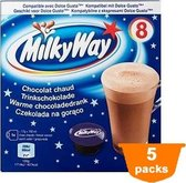 Milky Way - Warme Chocoladedrank (Dolce Gusto® compatible) - 5x 8 Capsules