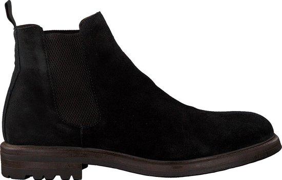 Mazzeltov Heren Chelsea boots 4146 - Zwart - Maat 44