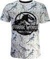 Universal Jurassic Park Fallen Kingdom T-Shirt Wit