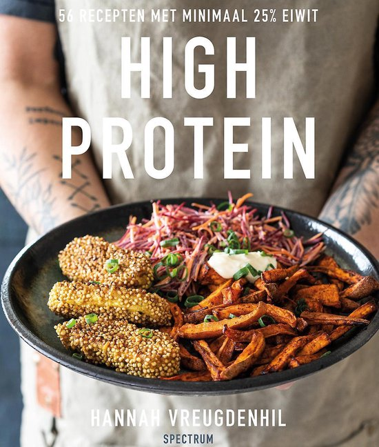 Boek cover High protein van Hannah Vreugdenhil (Paperback)