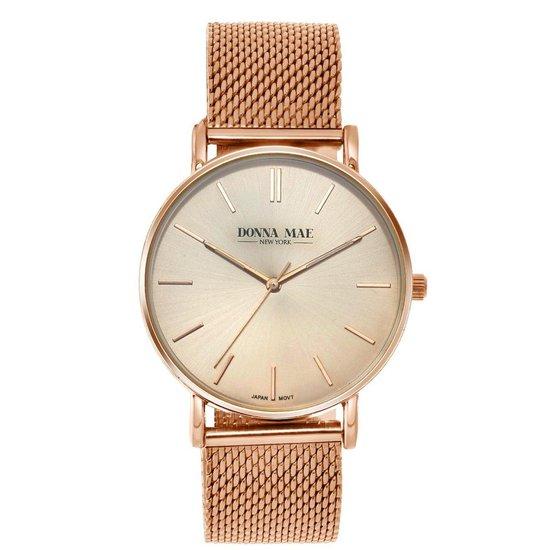Donna Mae mesh horloge DM1528R-030