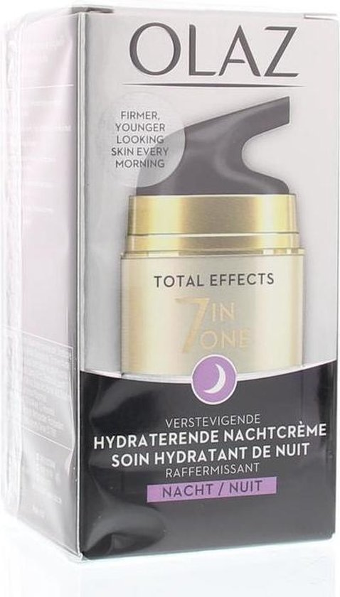 Olaz Total Effects - 7in1 Verstevigend & Hydraterend - Nachtcrème