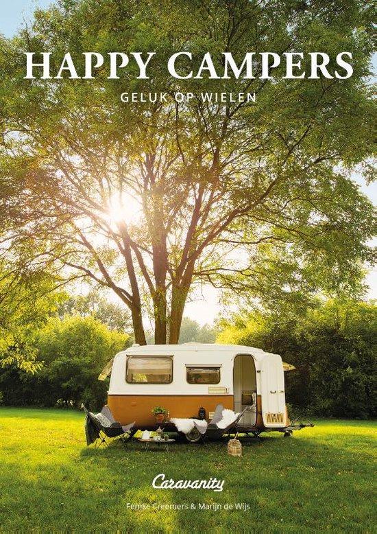 Boek cover Happy Campers van Femke Creemers (Paperback)
