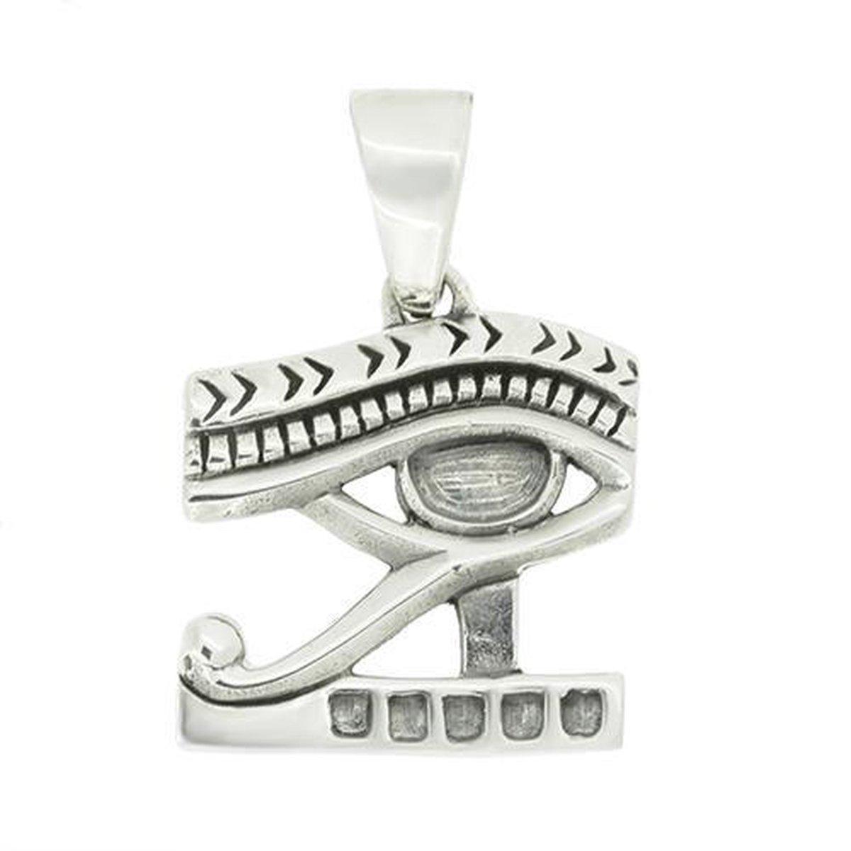 Blinx Jewels Zilveren Hanger Oog van Horus
