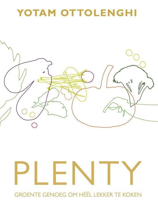Boek cover Plenty van Yotam Ottolenghi (Hardcover)