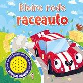 1 geluid  -   Kleine rode raceauto