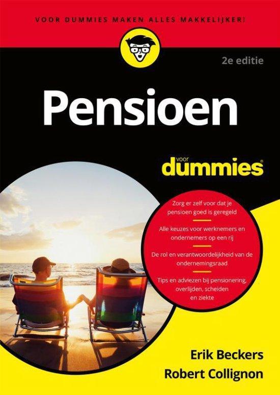 Voor Dummies - Pensioen voor Dummies - Erik Beckers |