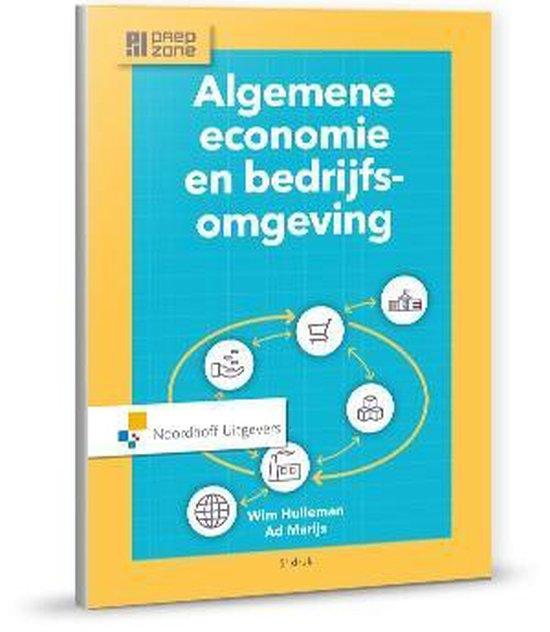Boek cover Algemene economie en bedrijfsomgeving van Wim Hulleman