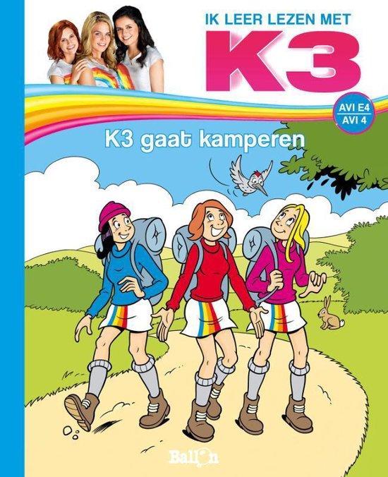 Boek cover Ik leer lezen met K3 0 - K3 gaat kamperen van Saskia Martens (Hardcover)