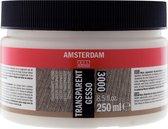 Gesso - Transparant - Amsterdam - 250ml