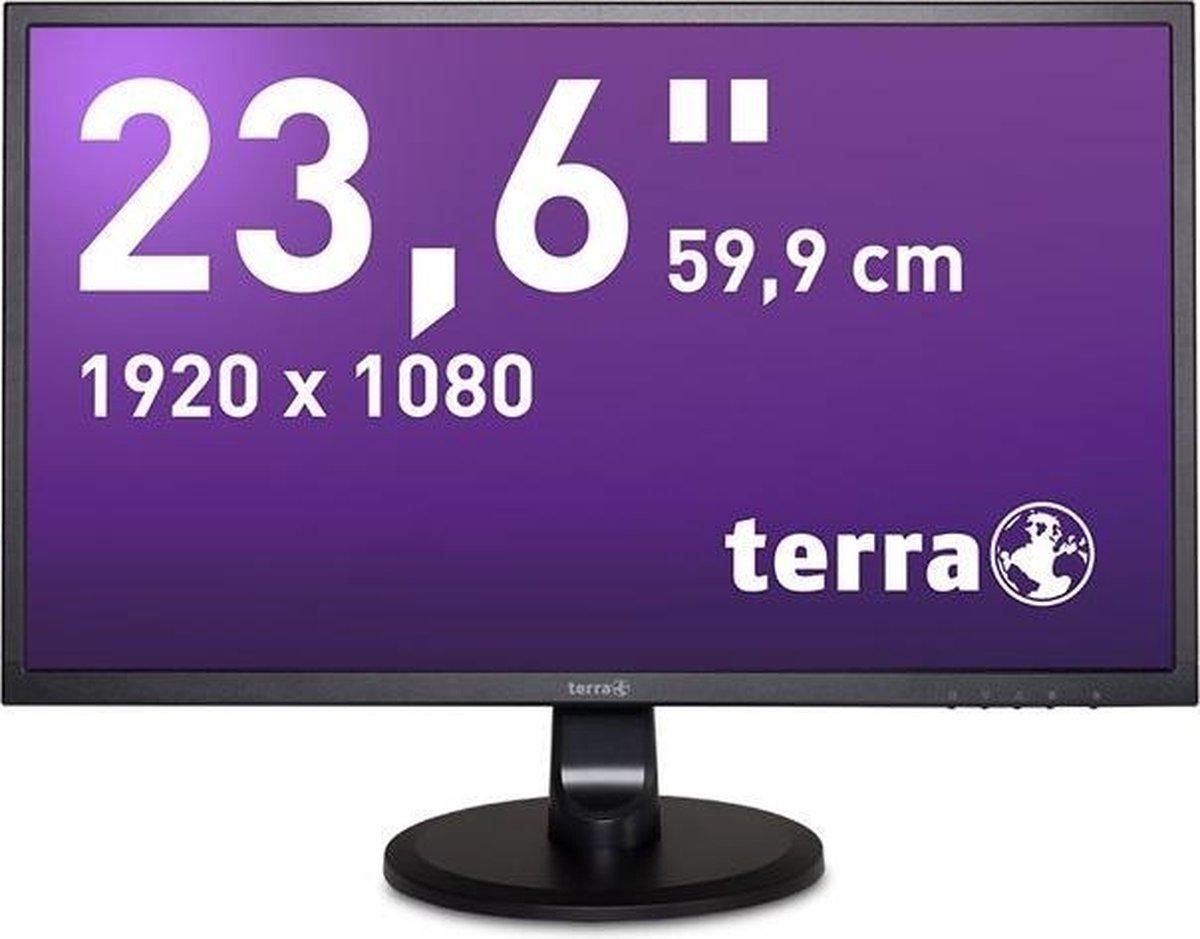Wortmann AG 3030029 LED display 59,9 cm (23.6) 1920 x 1080 Pixels Full HD Zwart