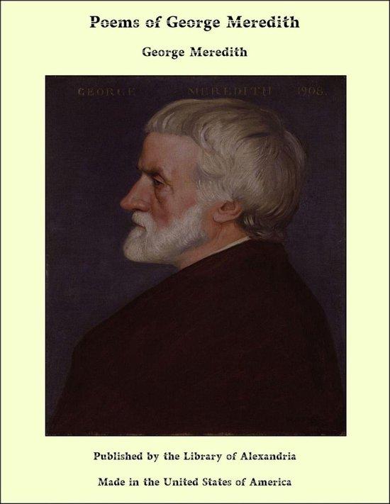 Poems of George Meredith