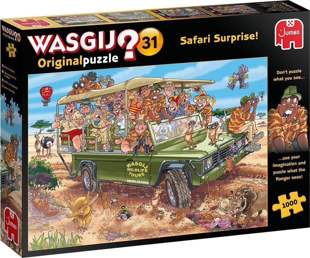 Wasgij Original 31 Safari Spektakel! puzzel - 1000 stukjes