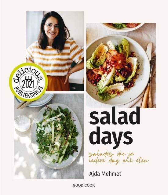 Boek cover Salad Days van Ajda Mehmet (Hardcover)