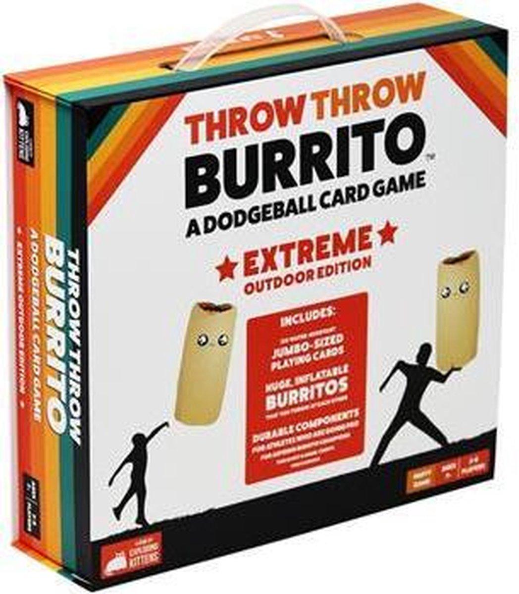 Throw Throw Burrito Extreme Outdoor Edition - Kaartspel