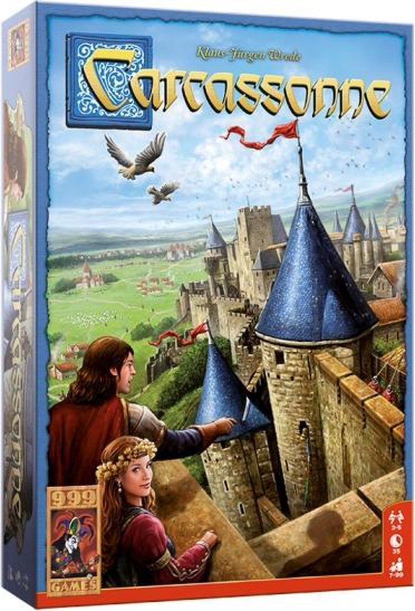 999 Games bordspel Carcassonne