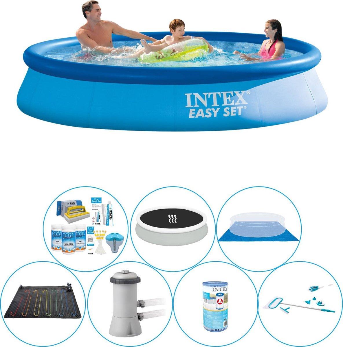 Zwembad Super Set - Intex Easy Set Rond 366x76 cm