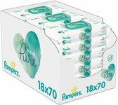 Pampers Aqua Pure Billendoekjes – 1260 stuks