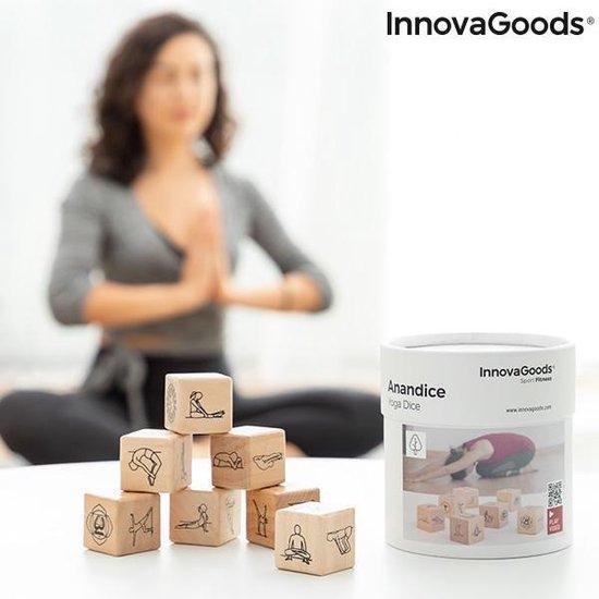 Creartix Yoga Dobbelspel Anandice InnovaGoods 7 dobbelstenen - incl. handleiding 35 posities
