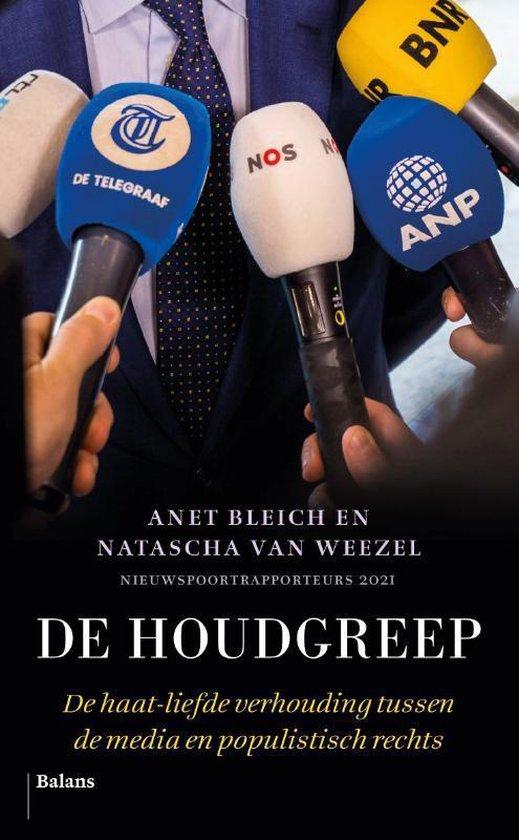 Boek cover De houdgreep van Anet Bleich (Paperback)