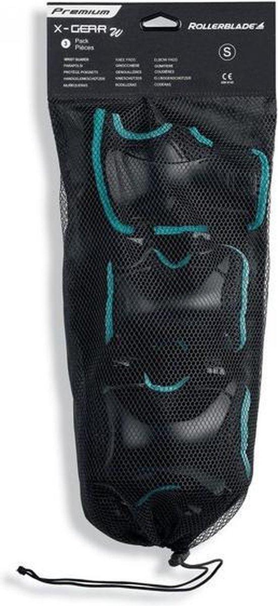 Rollerblade Valbescherming setVolwassenen - Zwart/Licht blauw