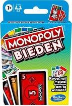 Monopoly Bieden - Kaartspel