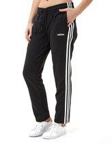 Adidas Essentials 3-Stripes Open Hem Joggingbroek Zwart Dames