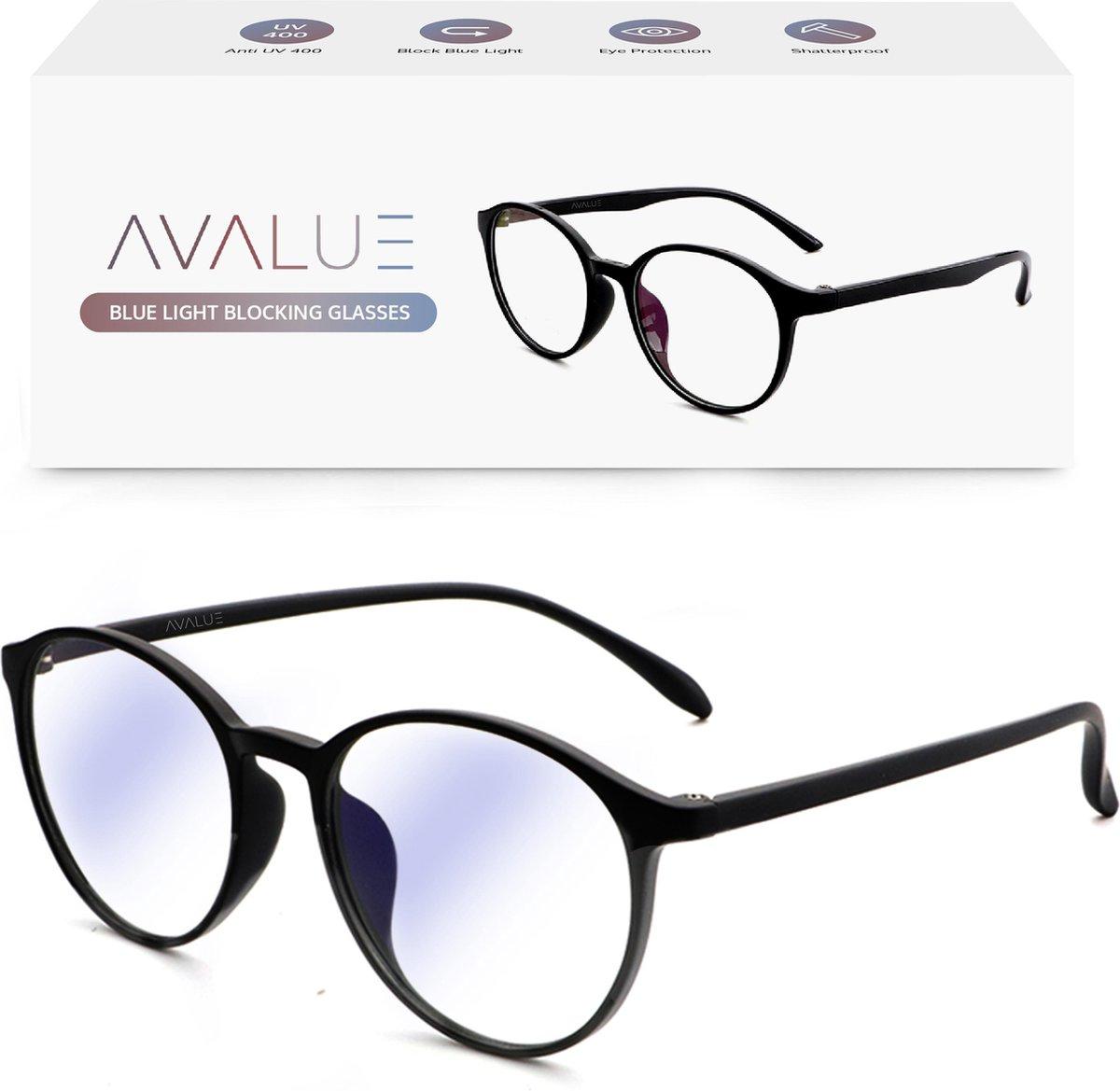 Blue Light Glasses - Blauw Licht Bril - Computerbril - Zwart