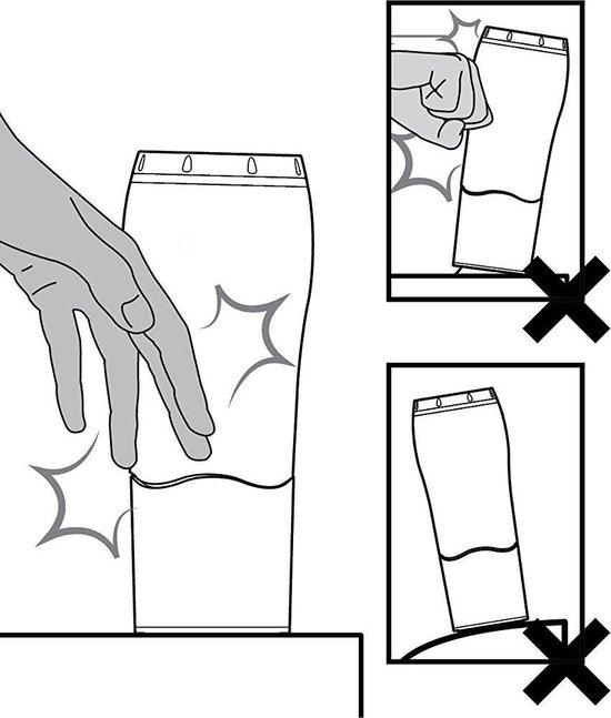 Mug dubbelwandige thermo drinkfles - 470ml (voor warm en koud drinken)... - Mighty Muggs