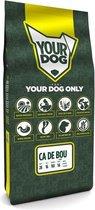 12 kg Yourdog ca de bou pup hondenvoer