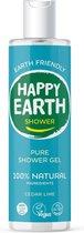 Happy Earth Pure Shower Gel Cedar Lime 300 ml - 100% natuurlijk