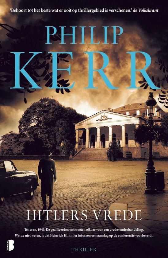 Boek cover Hitlers vrede van Philip Kerr (Onbekend)