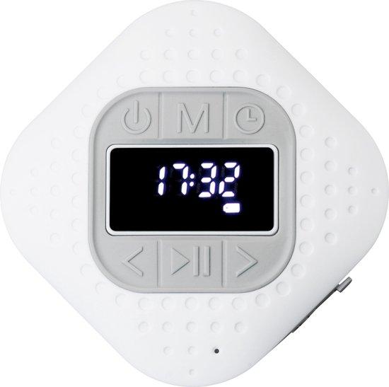 Lenco BAR-013 - Bluetooth douche + keuken radio - Wit