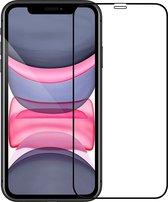 Screenprotector iPhone X/Xs - iPhone X/Xs Screenprotector Bescherm Glas 3D Zwart - iPhone X/Xs Screen Protector Glas 3D Zwart Extra Sterk