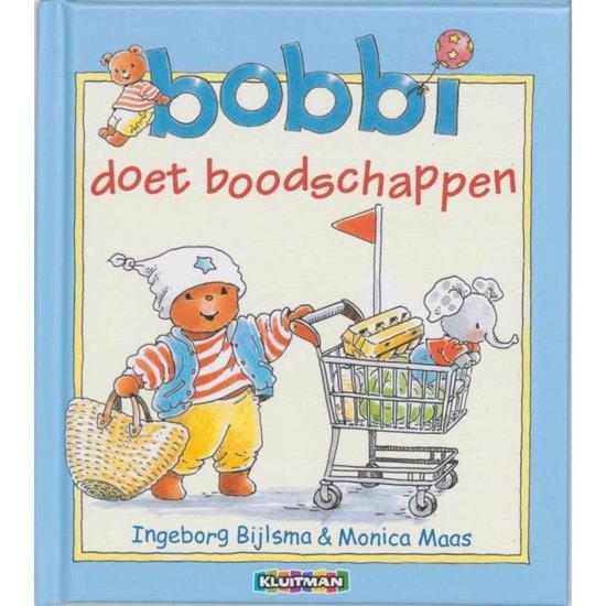 Boek cover Kinderboeken Kluitman - Bobbi doet boodschappen. 2+ van Ingeborg Bijlsma (Hardcover)