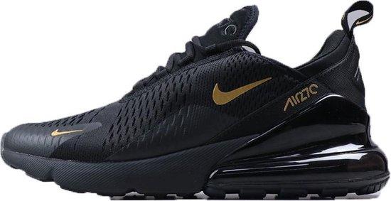 Nike Air Max 270 heren sneaker zwart-goud maat 42