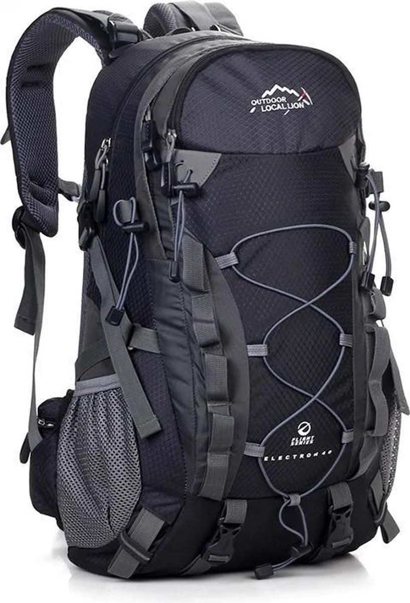 Backpack - Outdoor Local Lion - Rugzak - 40 Liter - Zwart