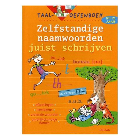Taal-oefenboek Zelfstandige naamwoorden juist schrijven (10-12j.) - Leen Smekens |