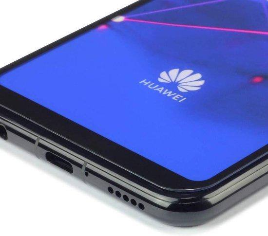 Screenprotector voor Huawei Mate 20 Lite, full screen tempered