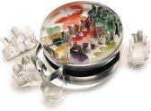 KitchenCraft Set van 7 uitstekers - bladeren / blaadjes - Kitchen Craft